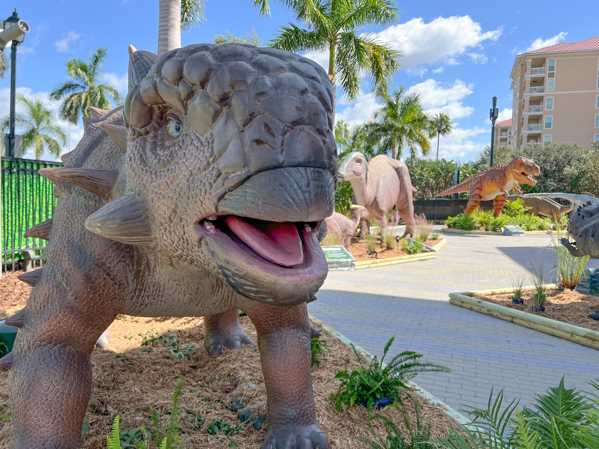 Dino Don's DinoVenture Invades The Bishop Museum in Bradenton